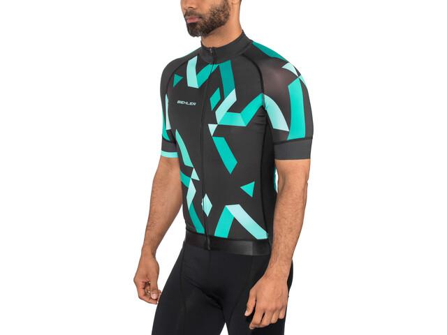 Biehler Expert Bike Jersey Shortsleeve Men blue/black